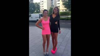 getlinkyoutube.com-Sexy Girls in High Heels and Super Tight Dresses ! HD ! Part 6