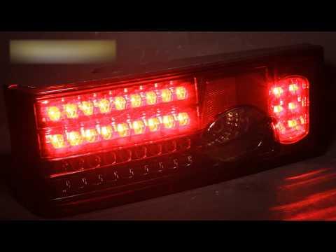 Задние тюнинг фонари ВАЗ 2108-09 | Tuning headlights for LADA 2108-09