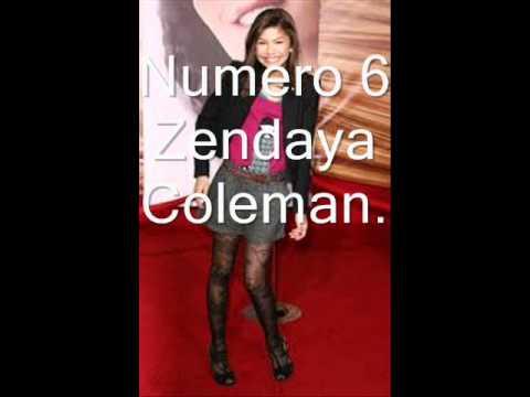 Las Chicas Mas Lindas De Disney Channel Y Nick.