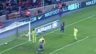getlinkyoutube.com-Commentators going crazy after Messi skills and goals
