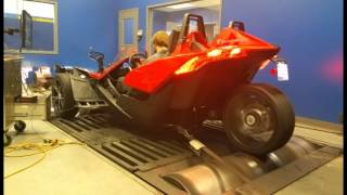getlinkyoutube.com-Alpha Powersport: First Polaris Slingshot Dyno