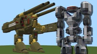 getlinkyoutube.com-Minecraft Flan's Mod vs Rival Rebels - Mod Battle