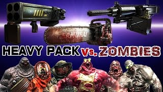 getlinkyoutube.com-Dead Trigger 2 Chainsaw Rocket Launcher Type92 (HEAVY PACK) vs. Zombies HD