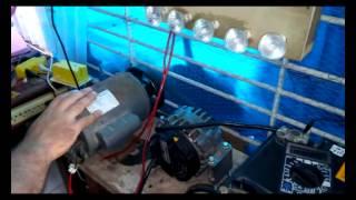 getlinkyoutube.com-alternador gerador de energia tudo sobre AC DC 220v