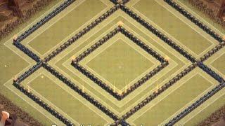 getlinkyoutube.com-Clash Of Clans | TH 10 War/Trophy Base Anti Gowipe - 275 walls