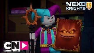 getlinkyoutube.com-Lego Nexo Knights I Yenik Clay I Cartoon Network Türkiye