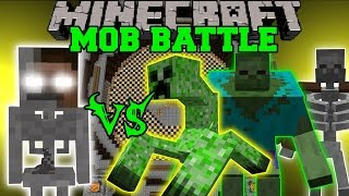 getlinkyoutube.com-SKELEBRINE VS MUTANT CREATURES - Minecraft Mob Battles - Minecraft Mods