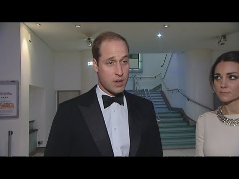 Nelson Mandela dead - Prince William pays tribute to Madiba