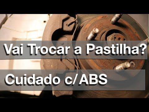 TROCA DA PASTILHA DE FREIO - ERRO QUE MATA O ABS