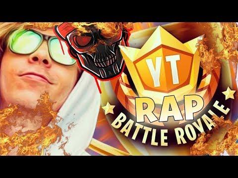 el rap del torneo de los 100 youtubers de fornite ft zarcort keyblade jacky de kronno zomber Letra y Video