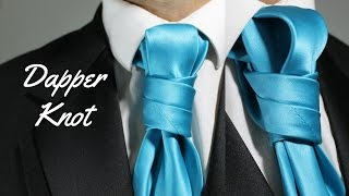 How To Tie a Tie - Dapper Knot
