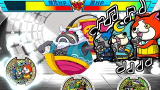 getlinkyoutube.com-ムゲン地獄のボス登場!!妖怪メダランド おみくじバトル ユニットうたメダル使用!!  Yo-kai Watch