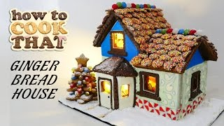 getlinkyoutube.com-GINGERBREAD HOUSE RECIPE How To Cook That Ann Reardon