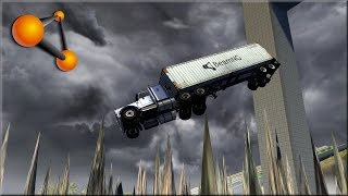 getlinkyoutube.com-BeamNG Drive Stairway To Hell & Pit Of Death Revisited 900k Thank You