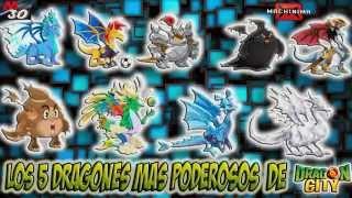 getlinkyoutube.com-Los 5 Dragones mas Poderosos de Dragon City