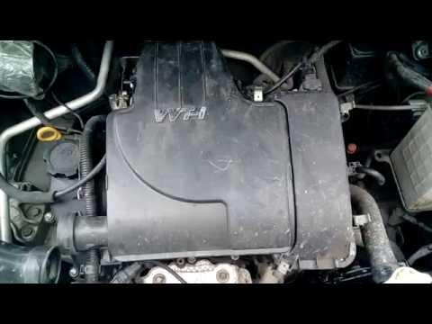 Работа двигателя 1KR FE после чистки дросселя и клапана ХХ