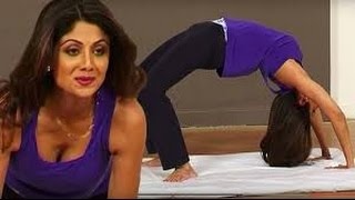 getlinkyoutube.com-Shilpa Shetty's HOT Yoga | For Complete Fitness for Mind, Body and Soul | International Yoga Day