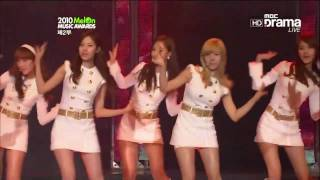 getlinkyoutube.com-【HD Live】少女時代SNSD - Hoot + OH!  (2010 Melon Music Awards) (101215)