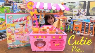 getlinkyoutube.com-Pink Cooking Playset for Little Girls. Lalaloopsy Magic Kitchen Unboxing and Playtime w/ Maya