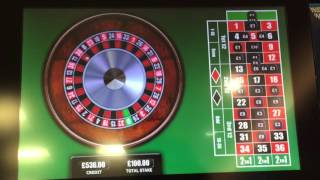 getlinkyoutube.com-Roulette good run on numbers, maximum bet at William Hill