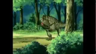 getlinkyoutube.com-Cartoon - Dinozaur eats Child