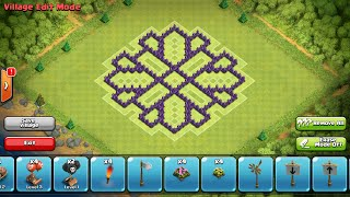 Clash of Clans- Epic town hall 8 farming base