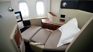 getlinkyoutube.com-Qantas A380 First Class Dubai to London