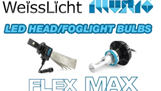 getlinkyoutube.com-WeissLicht Illustro LED Headlight/Fog Light Bulbs
