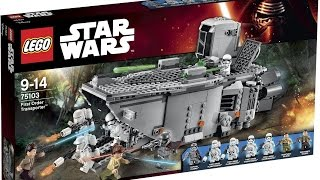 New Star Wars, The Force Awakens LEGO Overview | By @FLYGUY