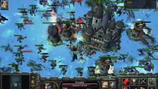 getlinkyoutube.com-X HERO SIEGE Extreme 4 lvl Dual heroes 8 way solo/ part 1