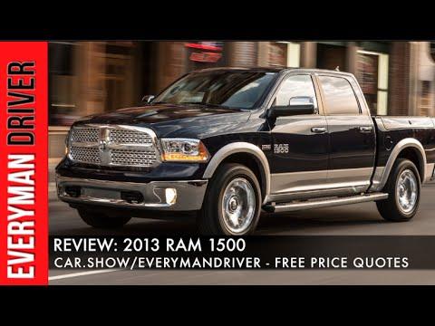 2013 Ram 1500 Longhorn Crew Cab 4x4 Review with Everyman Driver, Dave Erickson