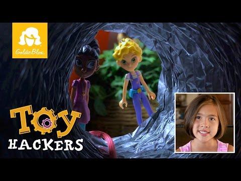Ep 8: Toy Hackers, Peek-Around Periscope (JillianTubeHD & GoldieBlox