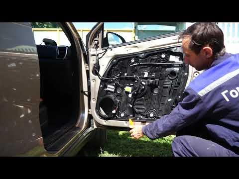 Снятие обшивки дверей на Kia Sportage 4