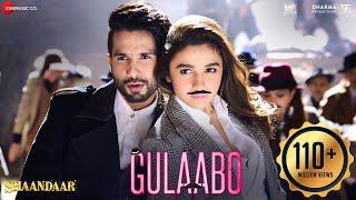 getlinkyoutube.com-Gulaabo | Dance Party Song | Shaandaar | Alia Bhatt | Shahid Kapoor | Vishal Dadlani | Amit Trivedi