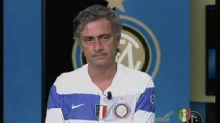 getlinkyoutube.com-Inter Channel: intervista a Mourinho (18/08/2009)