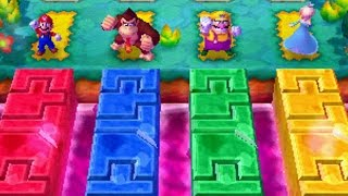 getlinkyoutube.com-Mario Party Star Rush - Balloon Bash (Map 3)