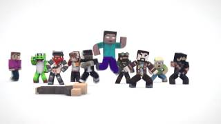 getlinkyoutube.com-▶ EVERYBODY DO THE FLOP Minecraft YouTuber Version 10 minutes