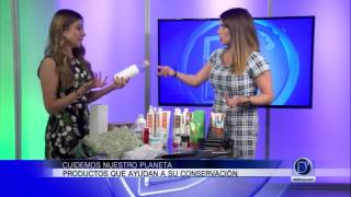 Susan Stipcianos nos muestra productos de uso diario que ayudan a cuidar el planeta