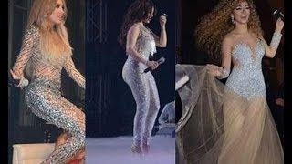 getlinkyoutube.com-شاهد النجمة هيفاءوهبي والملكة  ميريام فارس هم الاكثر اثارة  بتنورات القصيرة نجمتين اتقنتى فن الاثارة