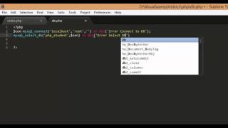 getlinkyoutube.com-PHP and Mysql select, insert, update and delete Part1
