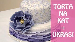 getlinkyoutube.com-Torta na kat: Slaganje i dekoriranje | Natašine slastice