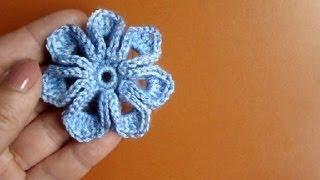 getlinkyoutube.com-Как связать цветок крючком Урок 36 How to crochet flower