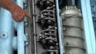getlinkyoutube.com-1945 Landing Craft Engine Start UP Detroit 6 71