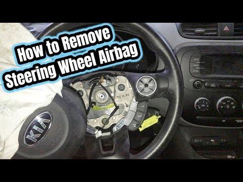 KIA Steering wheel Removal