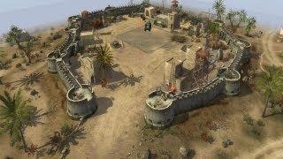 getlinkyoutube.com-Men of War - German campaign walkthrough - Mission 3 - Desert Stronghold 6/8