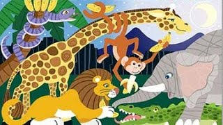 getlinkyoutube.com-wild animals 2 activity and song for children full Educational video for babies and toddlers