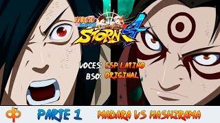getlinkyoutube.com-Naruto Shippuden Ultimate Ninja Storm 4 latino - Español Parte 1 | Modo Historia - Musicas Anime