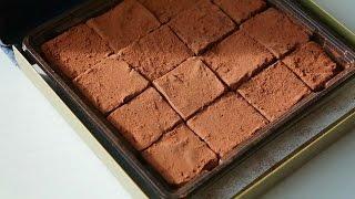 [요리의시니] (SUB) #30 노오븐 디저트 - 로이스초콜릿/파베초콜릿 만들기 ROYCE chocolate/ Pavé chocolate