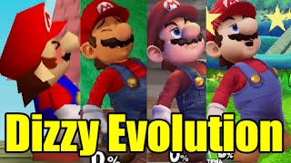 getlinkyoutube.com-Evolution Of Characters Dizzy In Super Smash Bros Series (Drunk) (Original 12 Characters)