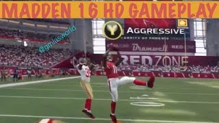 getlinkyoutube.com-Madden 16 Ultimate Team: AGGRESSIVE CATCHING IN MADDEN 16 - Madden 16 Gameplay Review